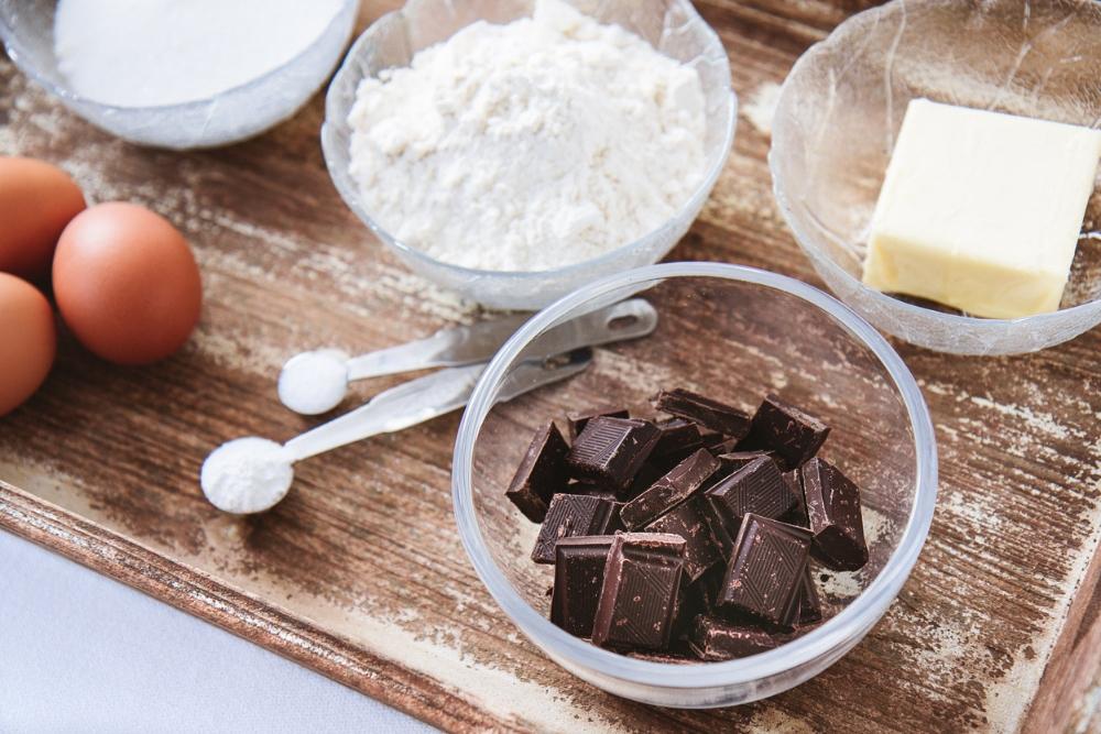 cookie baking ingredients