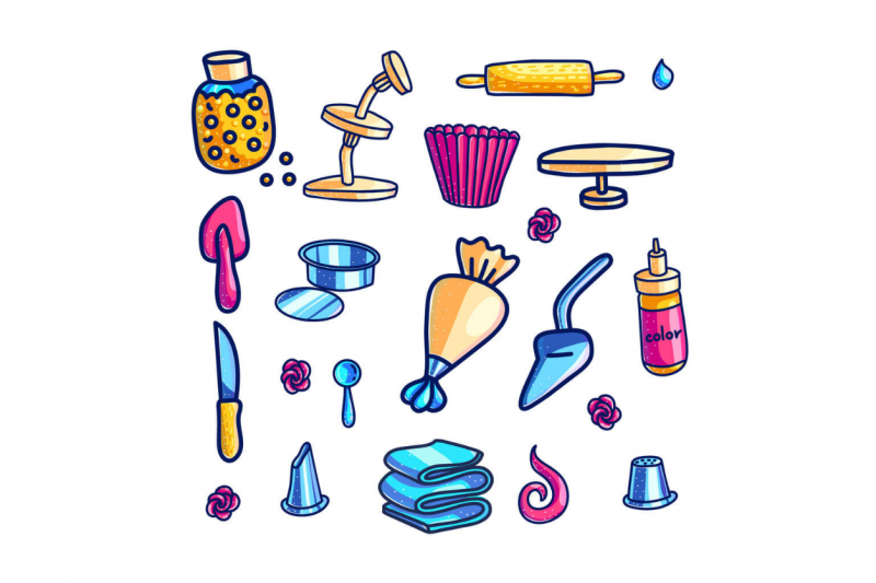 cake decorating supplies featured image