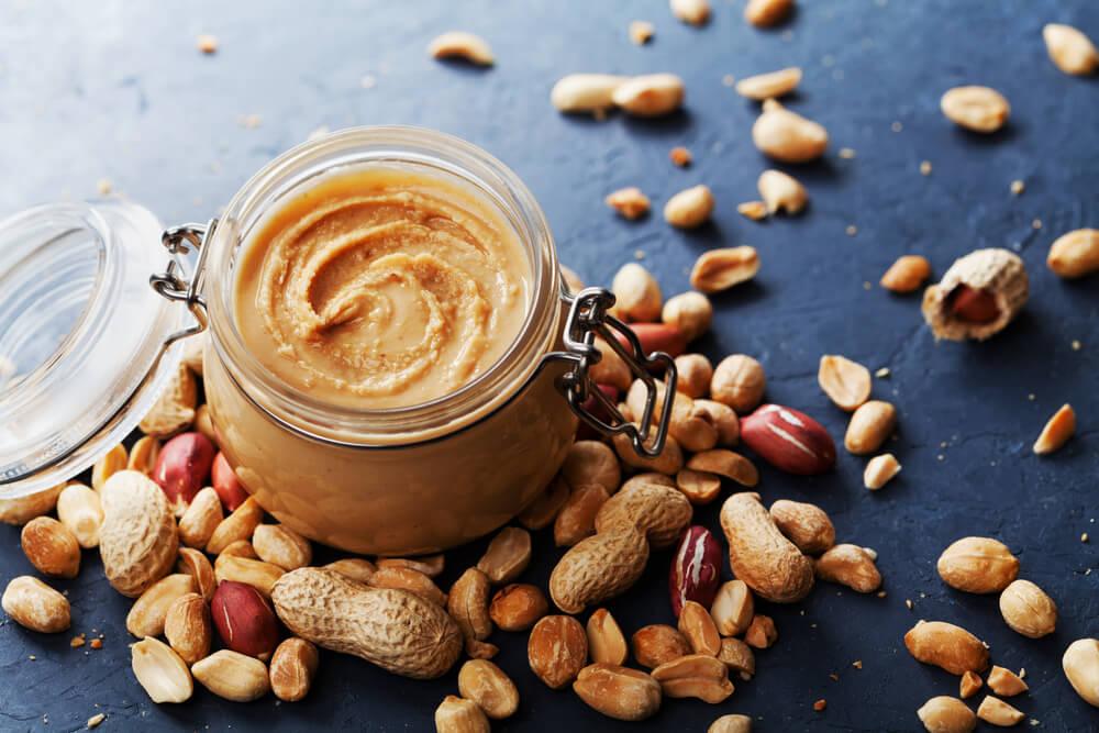 peanut butter in a jar