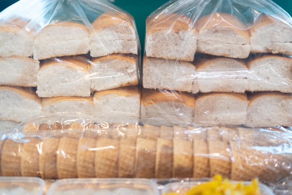 How to defrost bread